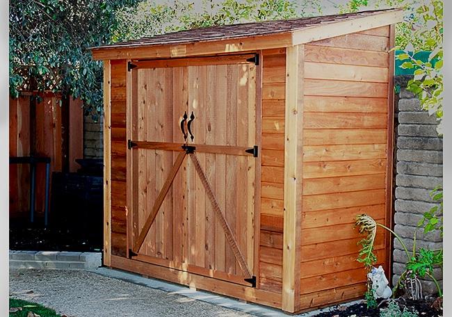 outdoor sheds cedar shed kits GJFTDHU