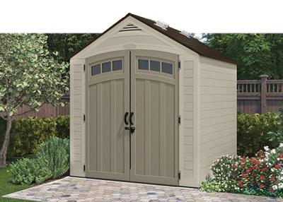 outdoor sheds resin sheds FTTRLWW