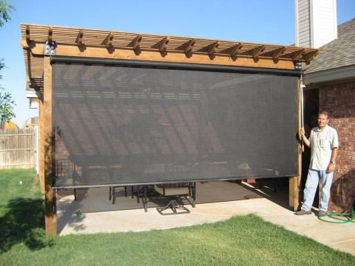 outdoor spaces - beat the heatu0027s patio shades, patio enclosures and other MIVHWTQ