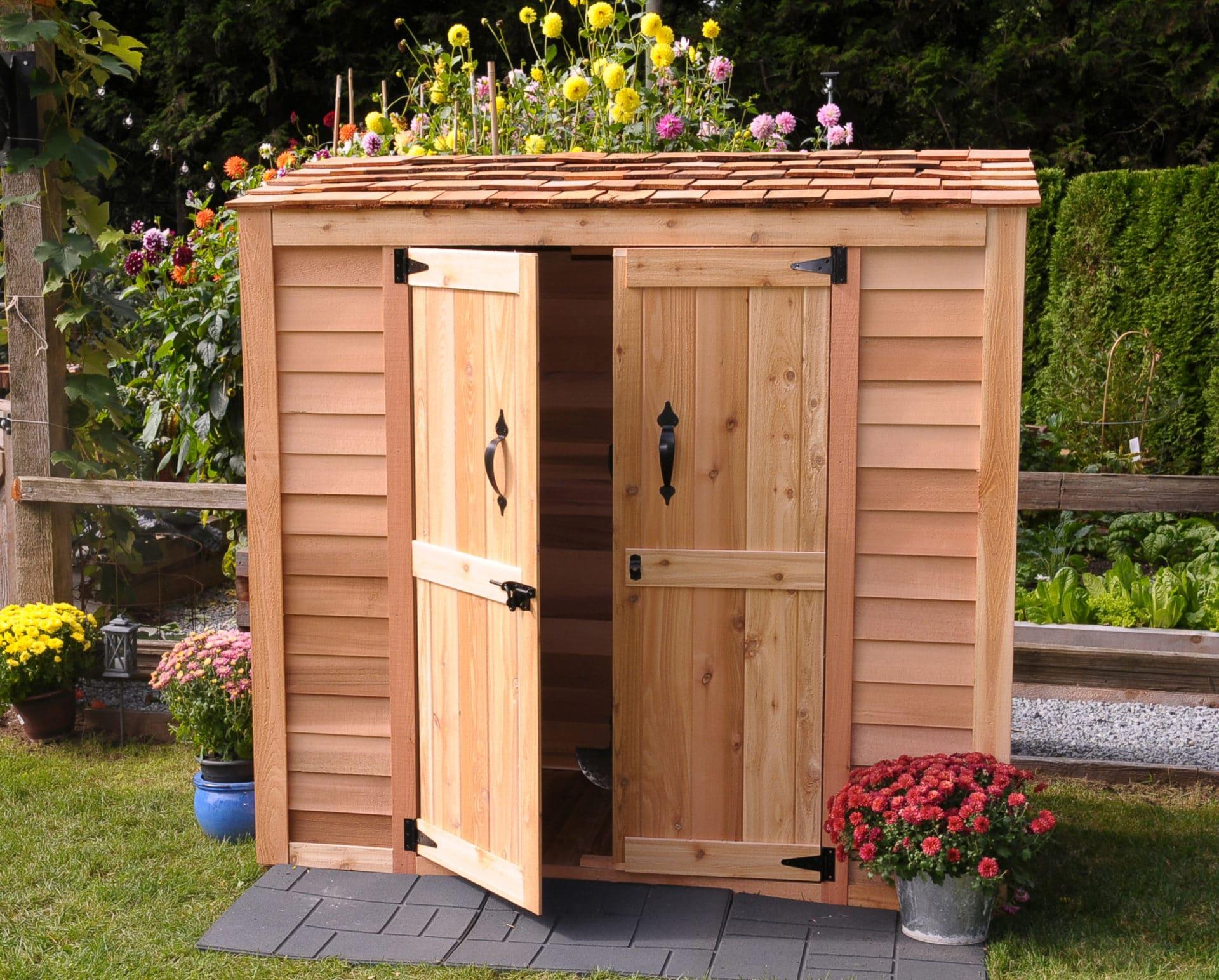 outdoor storage shed EFYTROX