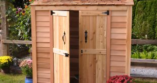 outdoor storage shed LVRUZJK