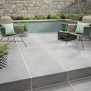 outdoor tiles wickes al fresco grey indoor u0026 outdoor porcelain floor tile 610 x FONGKLZ