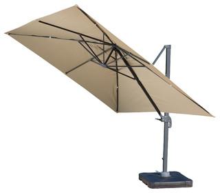 outdoor umbrella bayside outdoor deluxe umbrella - transitional