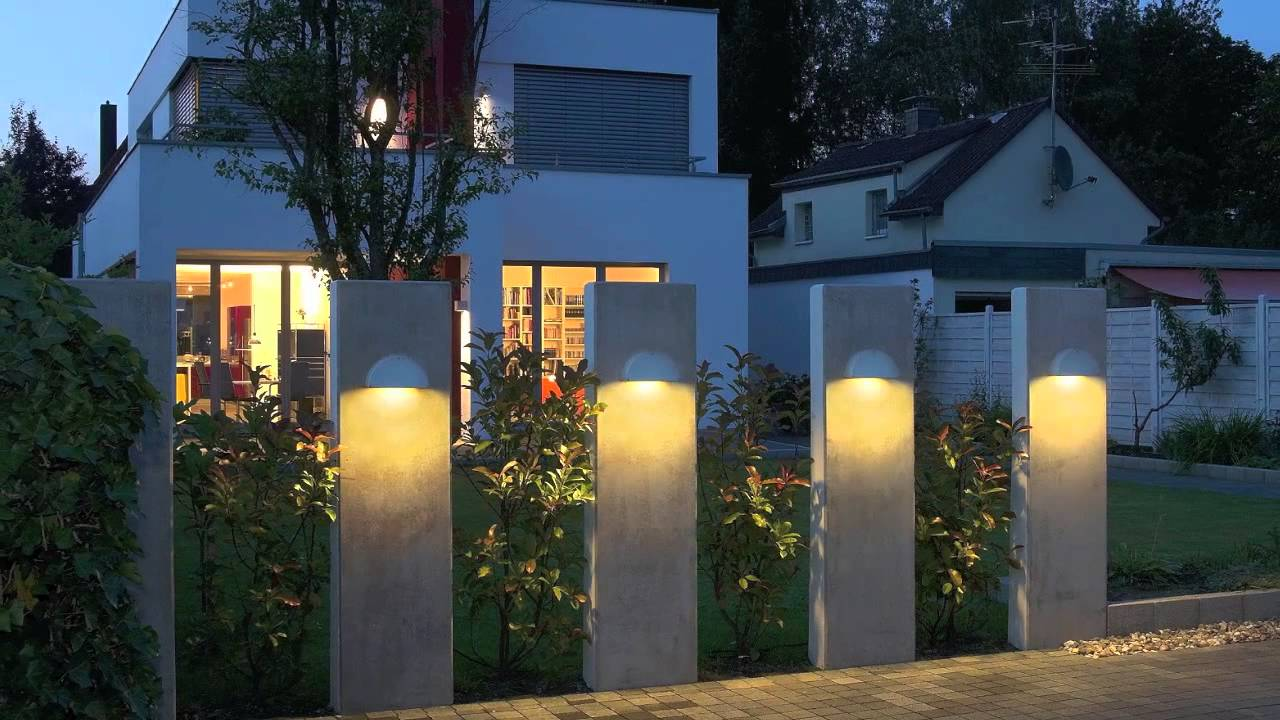 outside lighting modern outdoor lighting fixture design ideas - youtube YGRXBNQ