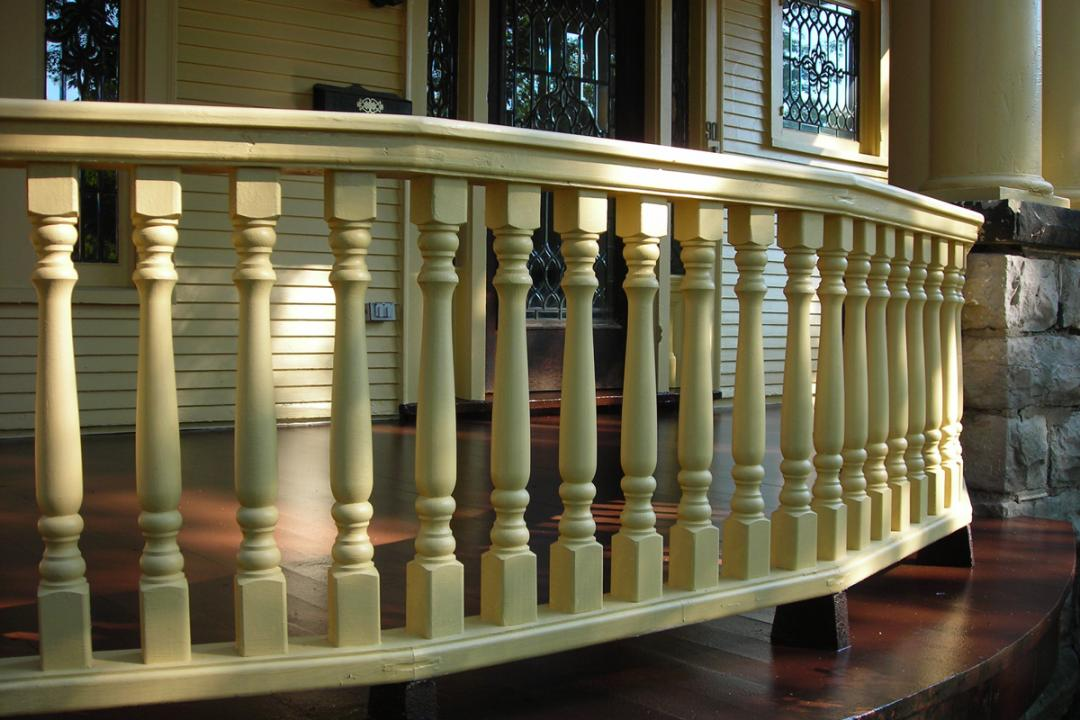 painting wood deck spindles BXQATHY