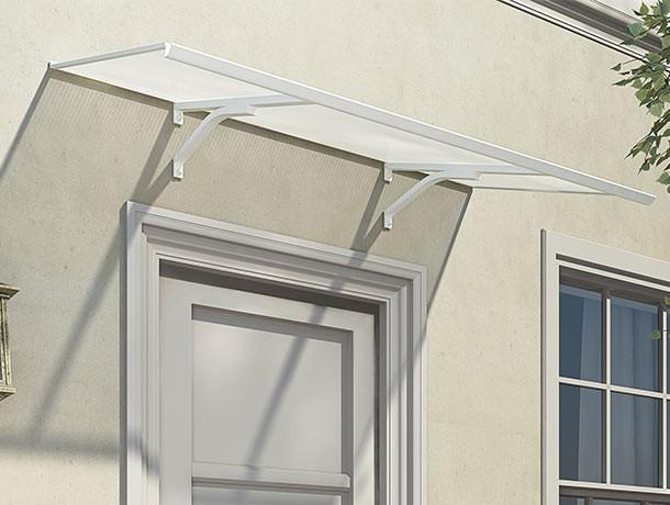 palram columba 1500 door canopy (white) | palram door canopies | the WQYMYBD