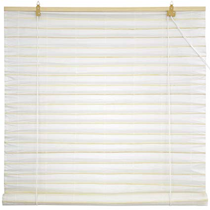 paper blinds oriental furniture shoji paper roll up blinds - white - (24 in. RUKRAWG