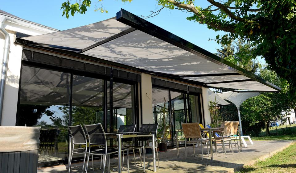 patio awnings modern patio awning ZJKOSRA