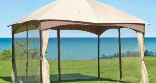 patio canopy massillon 10 ft. x 12 ft. double roof gazebo VDFKTDS