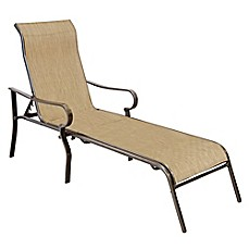 patio chaise lounge never rust aluminum chaise lounge in bronze BTILKBM