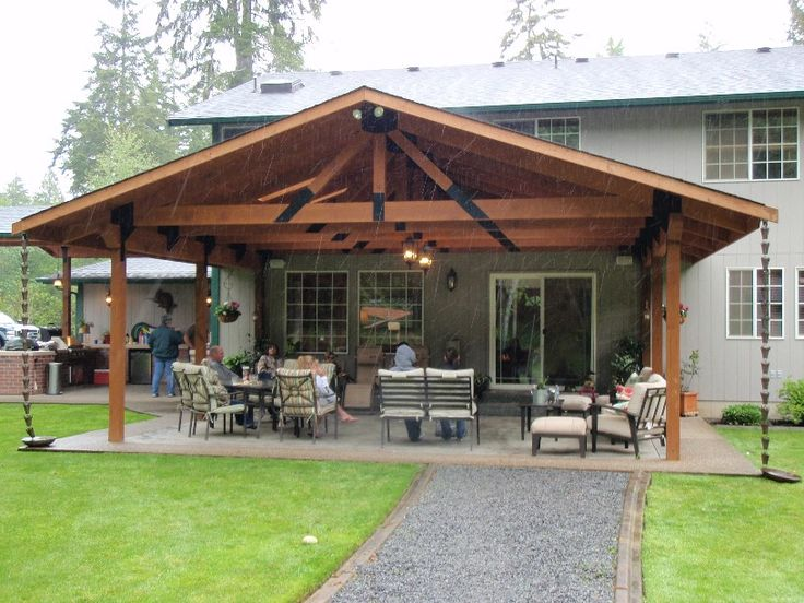 patio cover ideas 23 amazing covered deck ideas to inspire you, check it out! | XJNICHL