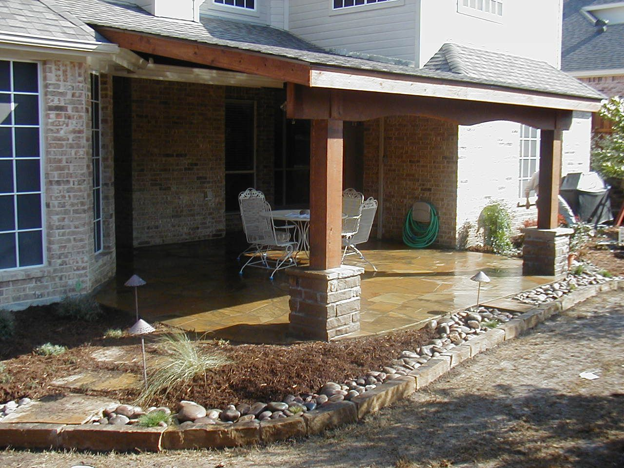 patio cover ideas building an attached patio cover | patio cover attached to house DHPHOSJ
