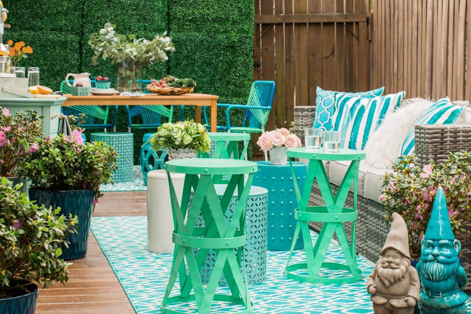 patio decorating ideas photo by: flynnside out productions