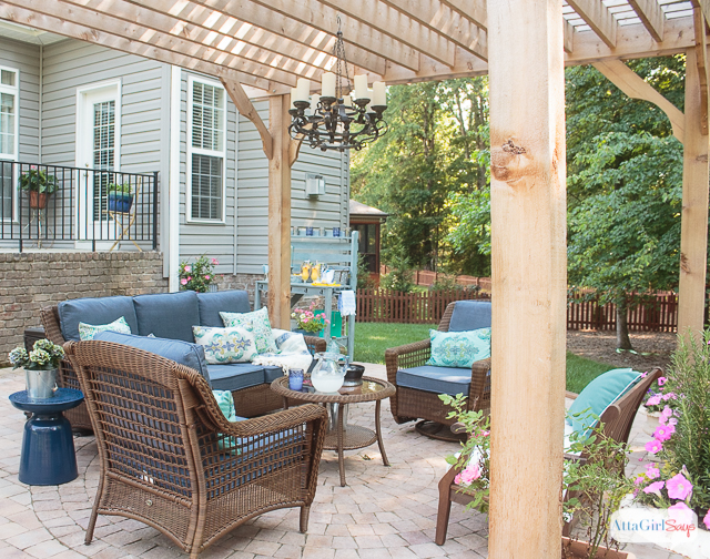 patio decorating ideas see how we transformed our