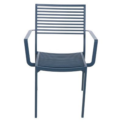 patio dining chairs aluminum slat patio dining chair - project 62™ : target WQALDXV