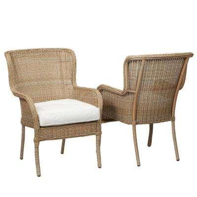 patio dining chairs lemon grove custom stationary wicker outdoor dining ... EESVLXJ
