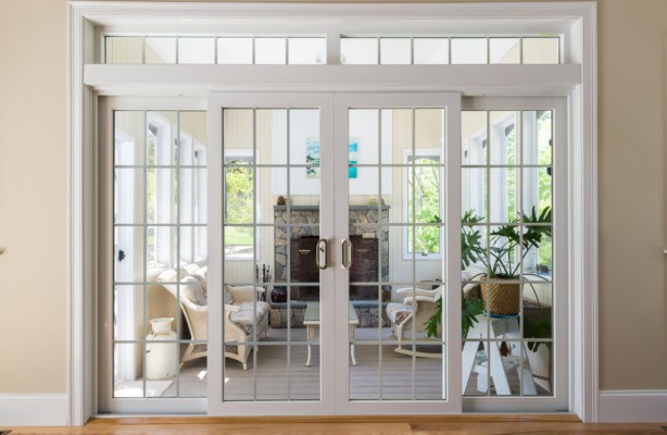 patio doors harvey vinyl patio door with transom VTFJHXV