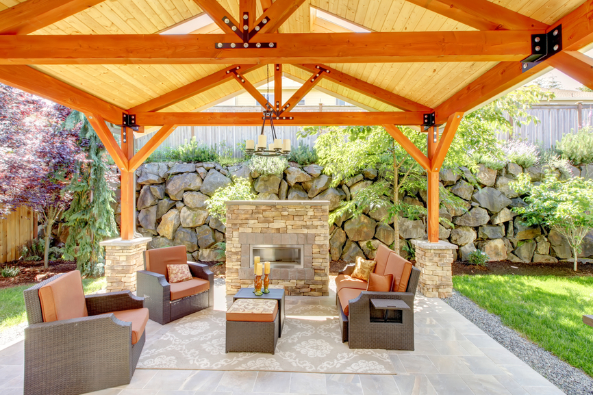 patio fireplace 31 patio fireplaces creating outdoor living room spaces RYYCUVS