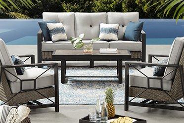 patio furniture conversation sets QWYRMSA