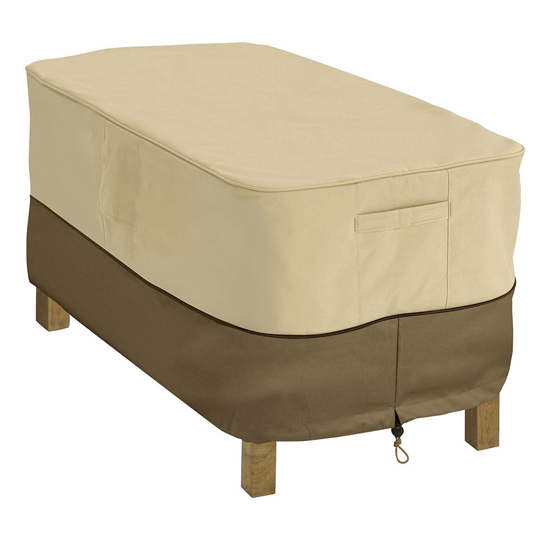 patio furniture covers amazon.com : classic accessories veranda patio coffee table cover - durable QKPPLXL