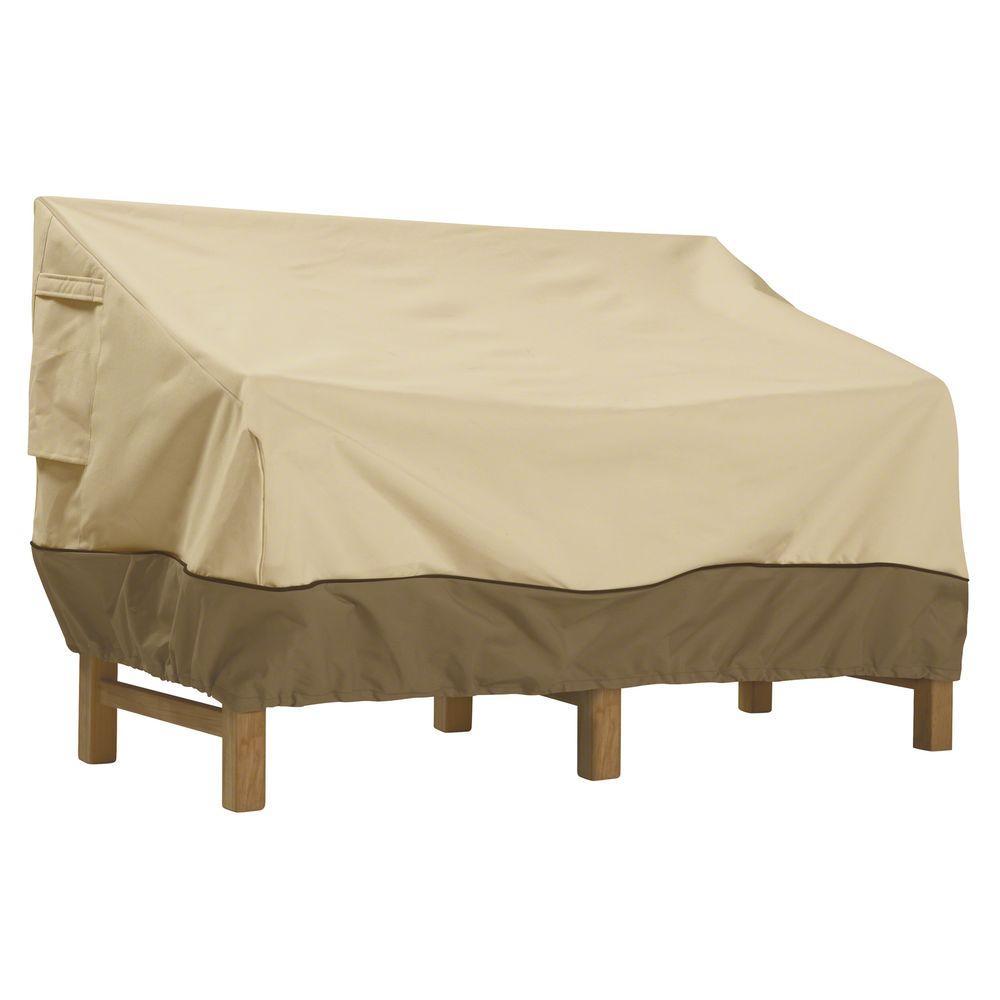 patio furniture covers classic accessories veranda xl patio sofa/loveseat cover DQGLQEC