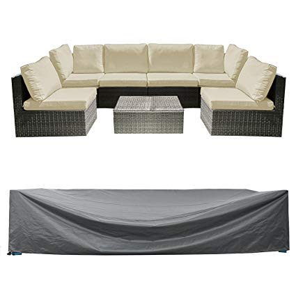 patio furniture covers patio sectional sofa set cover outdoor furniture covers water resistant outdoor OQYLMRV