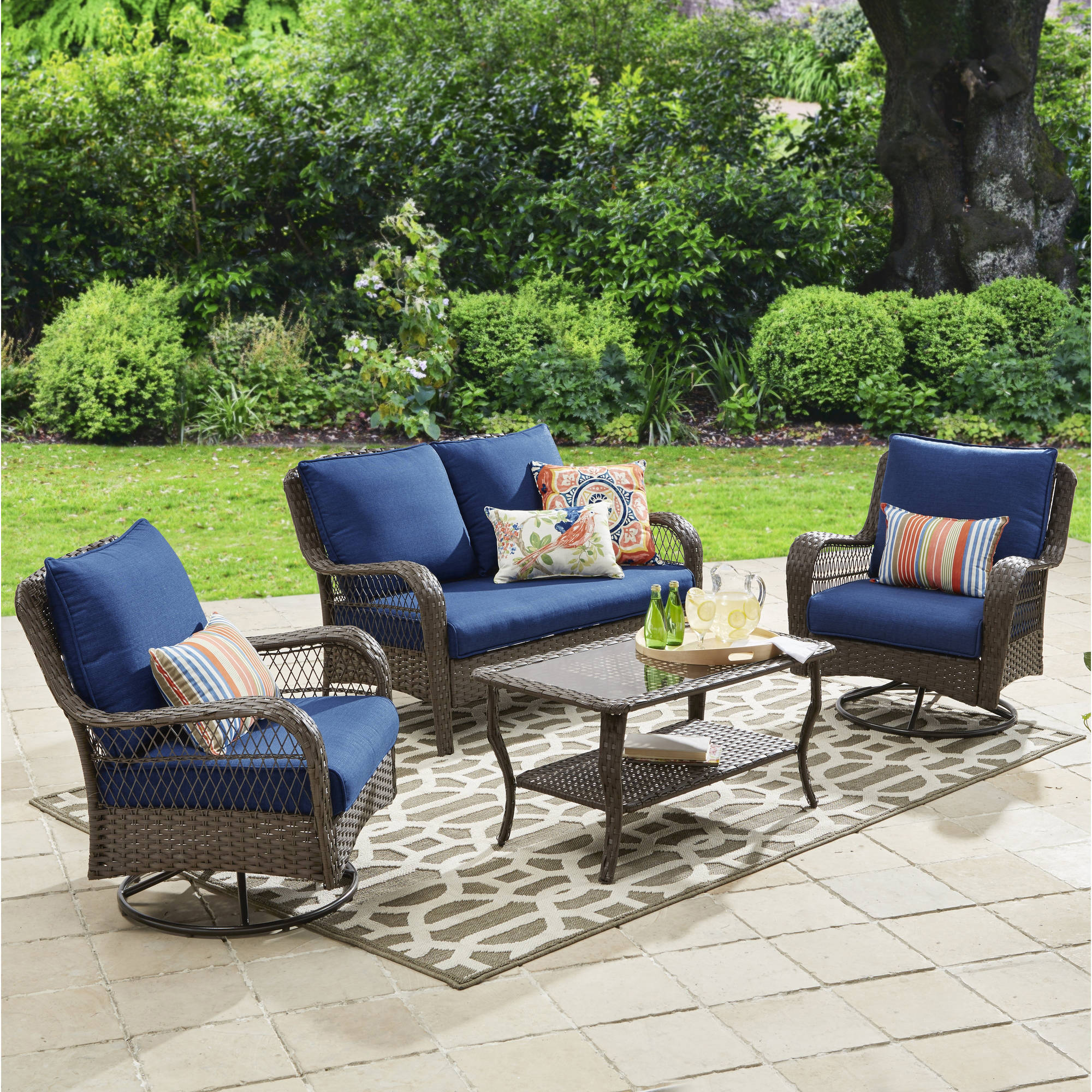 patio furniture sets better homes and gardens colebrook