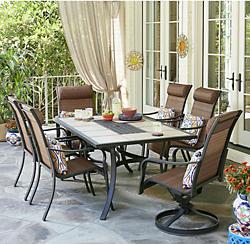 patio furniture sets dining sets UGOVQZJ