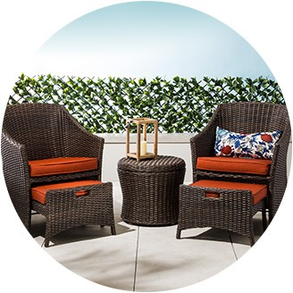patio furniture sets small-space patio furniture FVUABJS