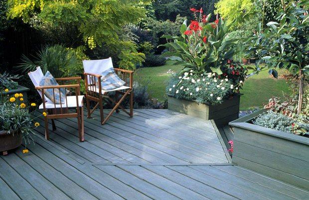 patio garden FGDDVKS