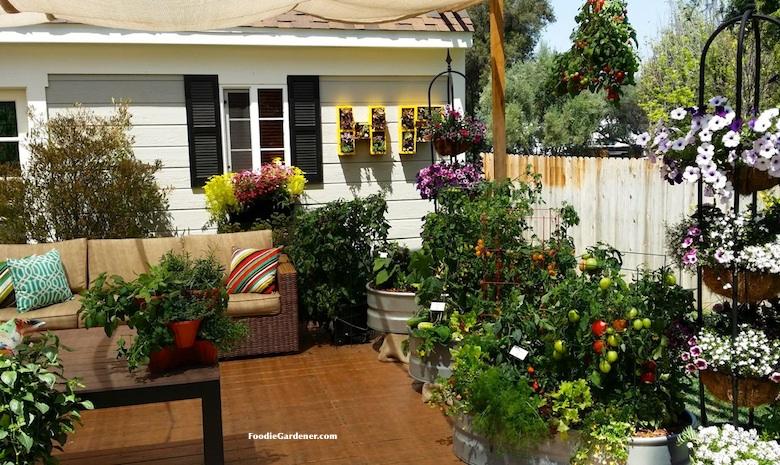 patio garden grow a container vegetable garden on your patio: tips SLYFMIS