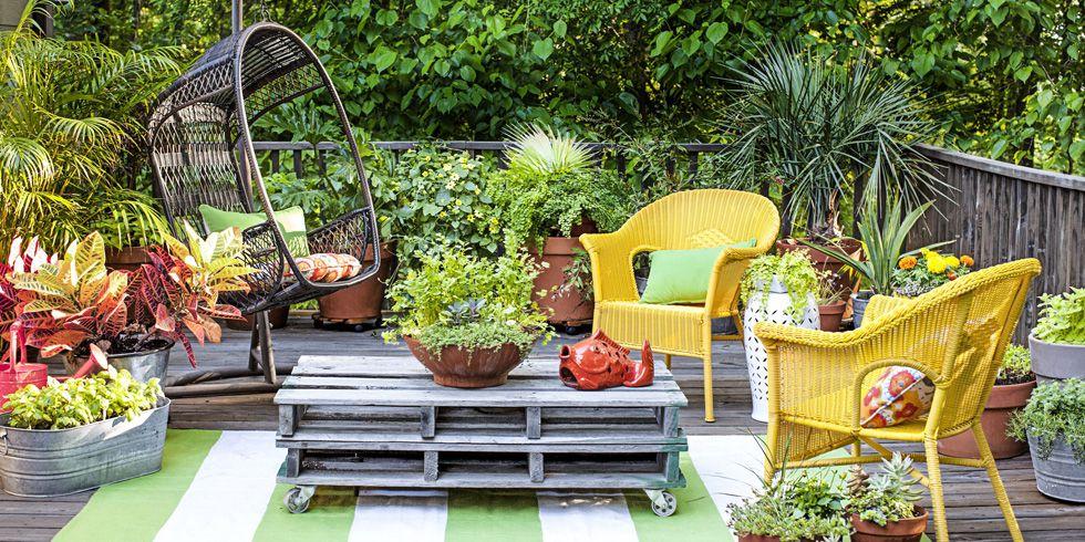 patio garden small garden ideas, small yard landscaping ideas RDUFPMY