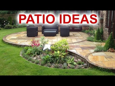 patio ideas - beautiful patio designs for your backyard FUNNNXW