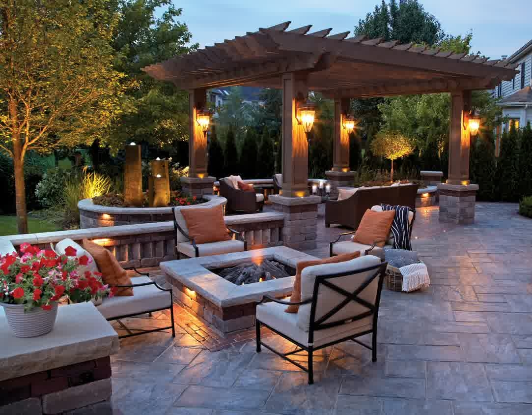 patio lighting option 3 - outdoor patio lighting ideas u0026 pictures KRYGLCP