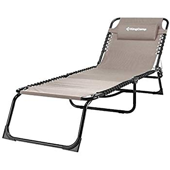 patio lounge chairs kingcamp patio lounge chair 3 reclining positions steel frame 600d oxford IOLFLBT