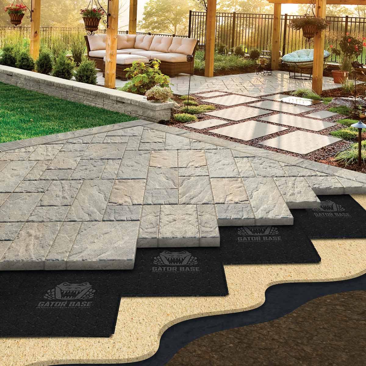 patio pavers easier paver base patios paver patio base WKTGDER