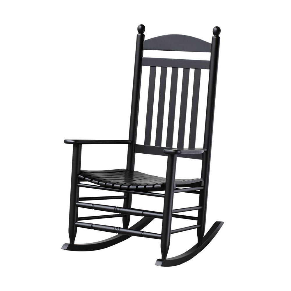 patio rocking chairs bradley black slat patio rocking chair SPHELZM