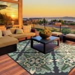 Give it that Interior appeal by using Patio Rugs on your Patio