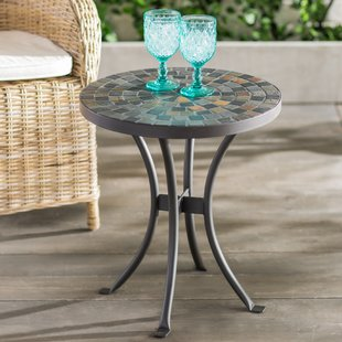 patio side table brie mosaic side table XSRKKBK