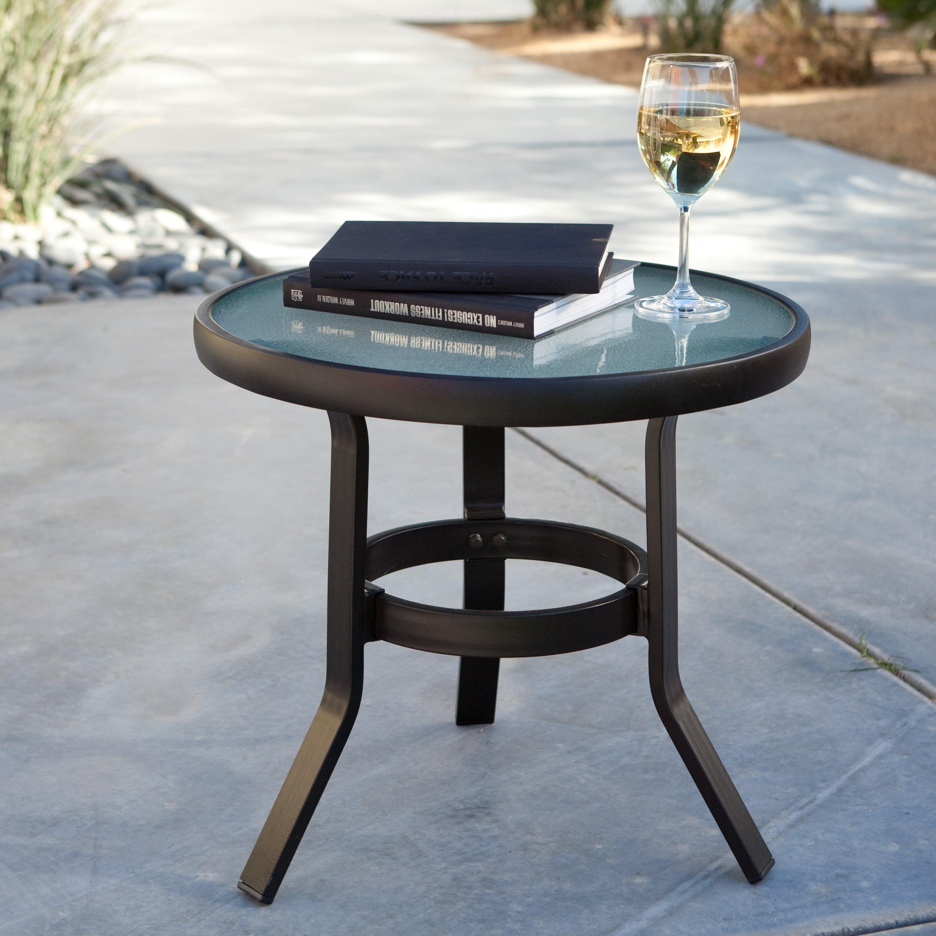 patio side table   hayneedle WJIMBFL