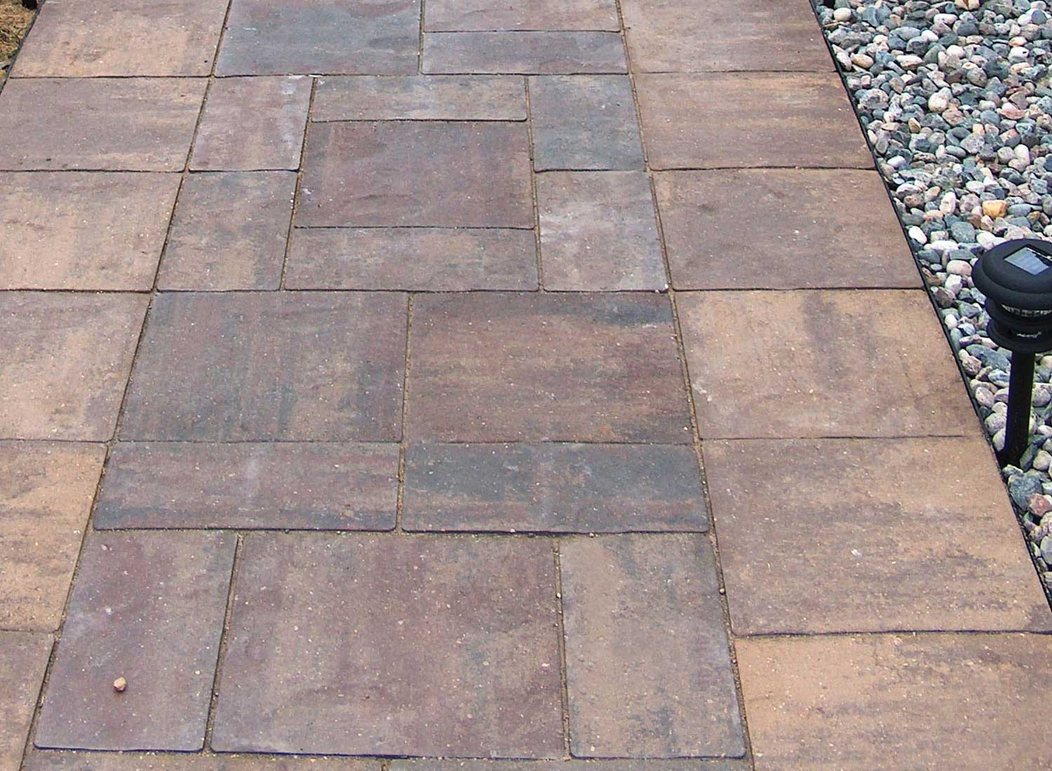 patio stones buff blend border UHQNXCP