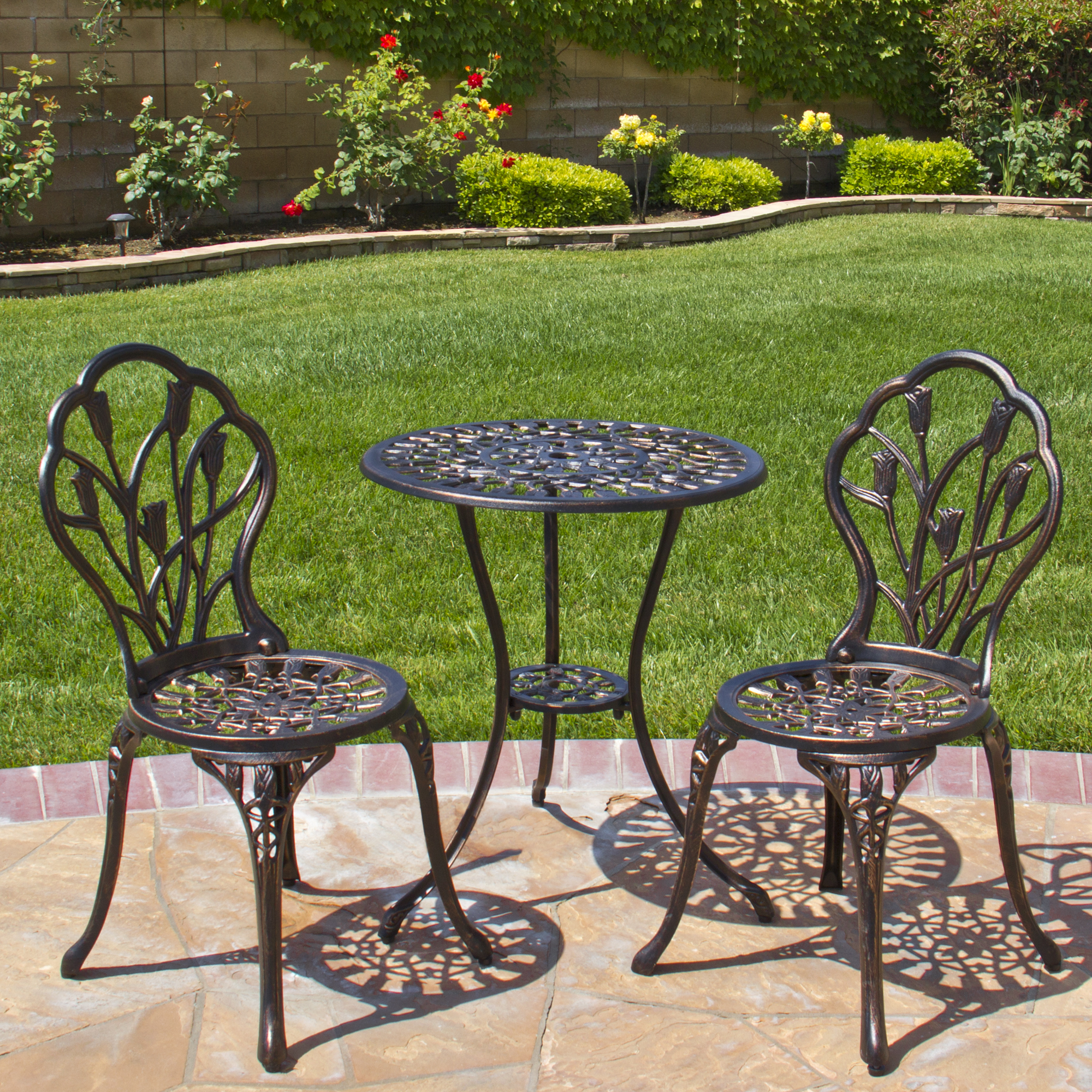 patio table and chairs best choice products cast