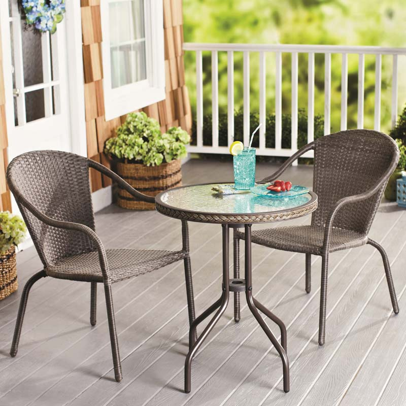 patio table and chairs nantucket wicker outdoor set