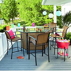 patio table sets bar sets ATYAVIK