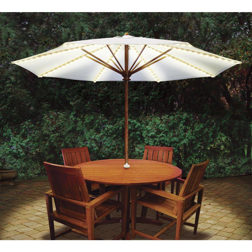 patio umbrella lights blue star group brella lights patio umbrella lighting system with power pod UKXBCWT