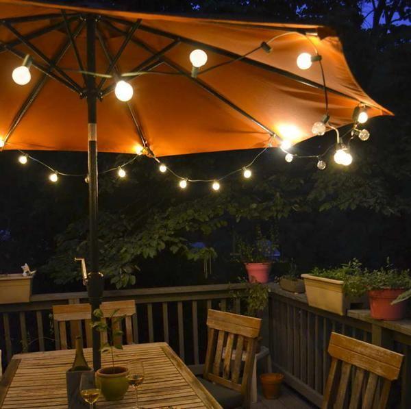 patio umbrella lights #diy #patio umbrella #lights XFDBGIN