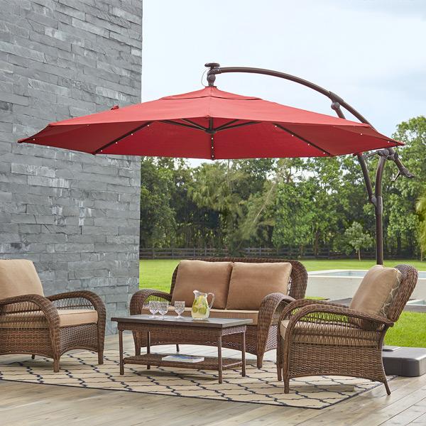 patio umbrellas by style. cantilever umbrellas LBPADGV