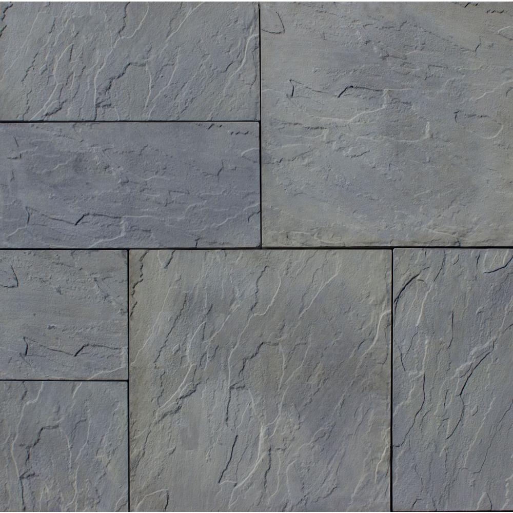 paver stones nantucket pavers patio-on-a-pallet 12 in. x 24 in. ESMFEHE