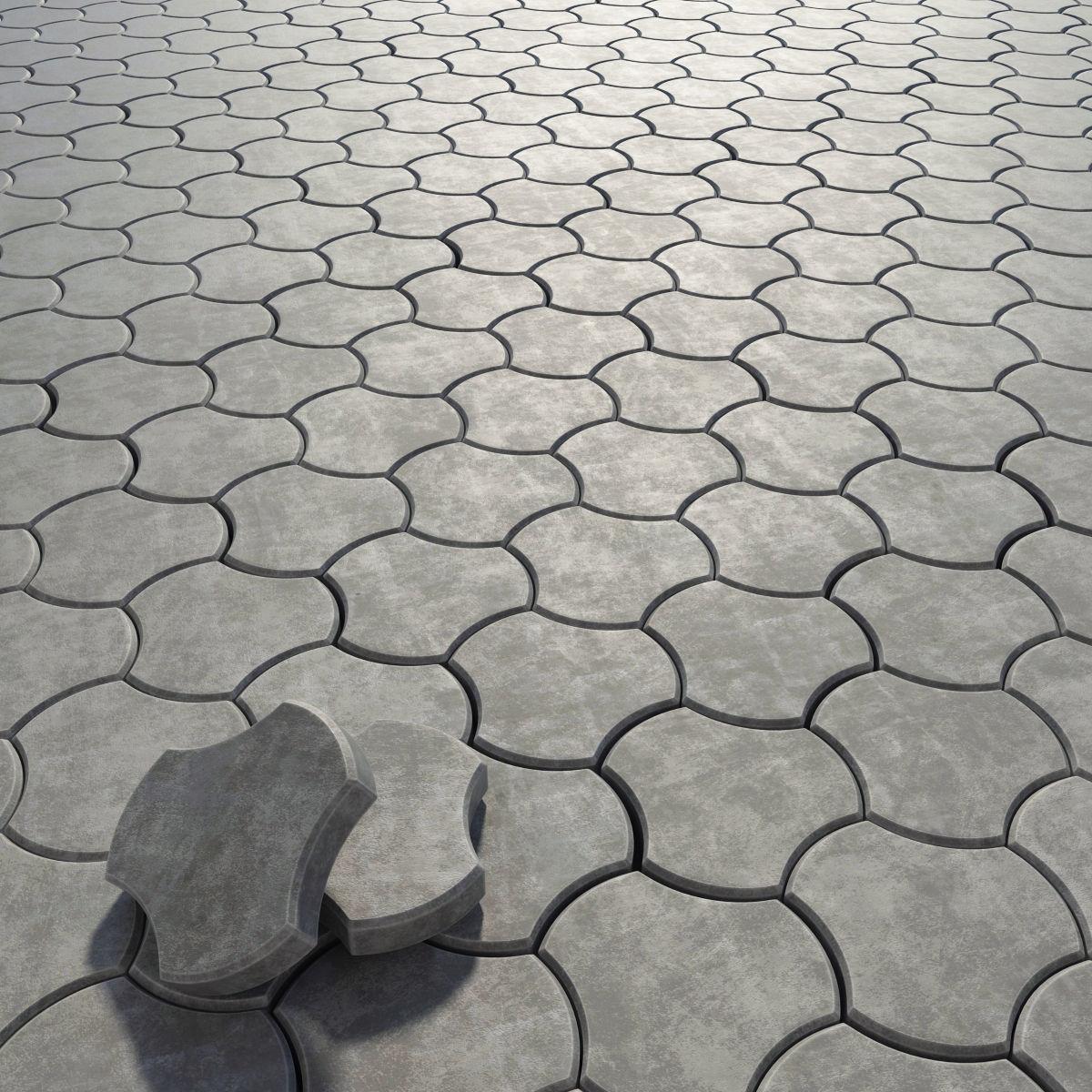 paving stone threetoed 3d model max obj 3ds fbx mtl 1 ... SJDVEKC
