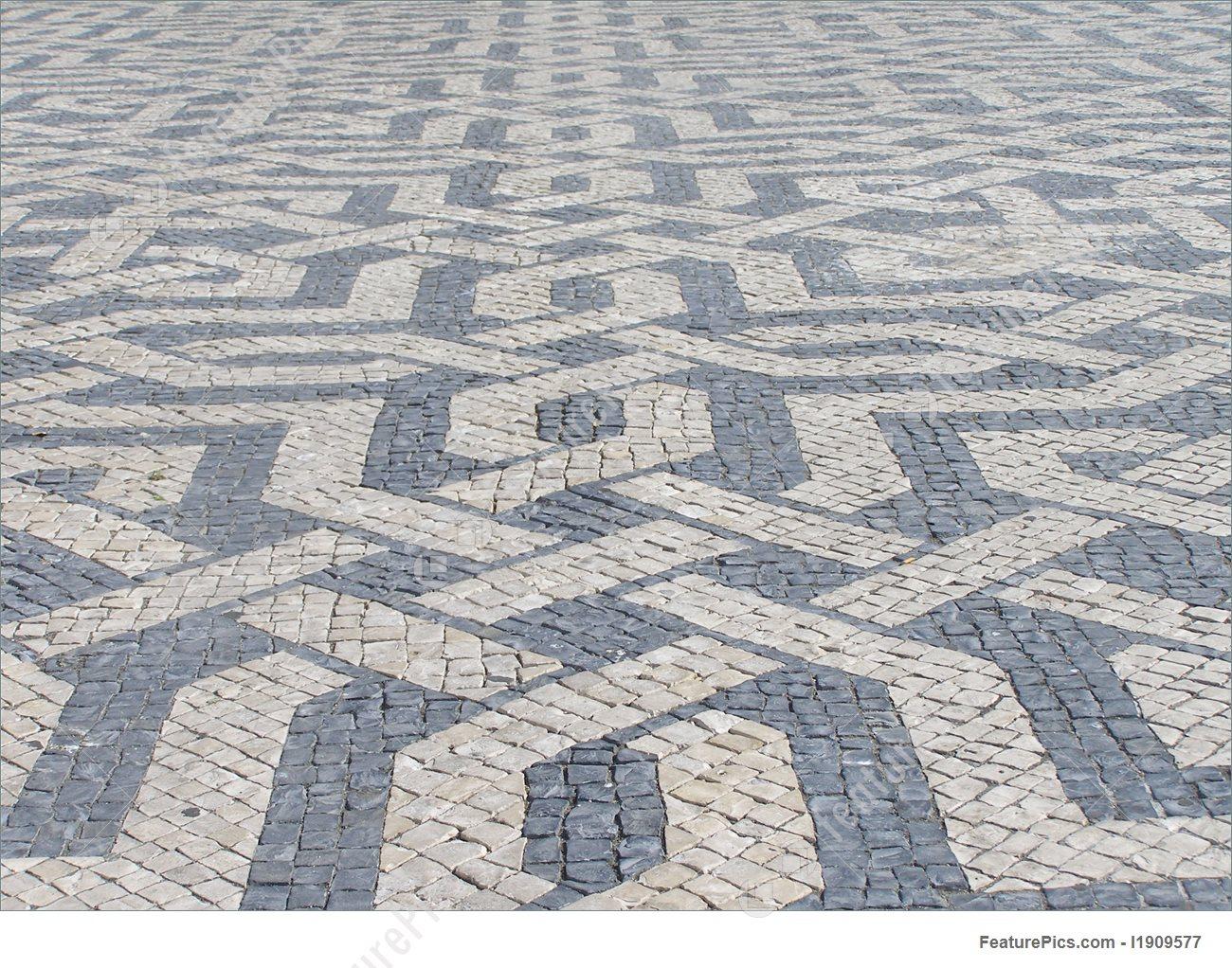 paving stones pattern FXFJDSS